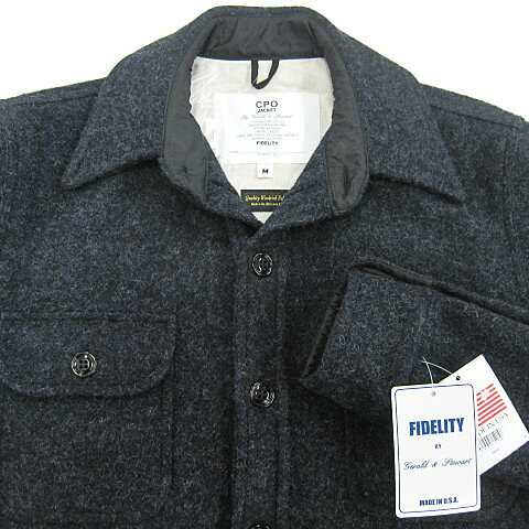 Fidelity cpo shirt jacket wool rich for Fidelity cpo shirt jacket