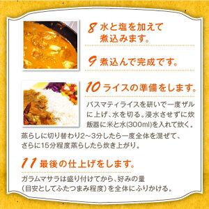 スパイスから作る本格チキンカレーセット【送料無料】