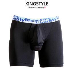 【King Style(キングスタイル)】網ポケット付 壮快パンツ:トランクス(下向き)SP-D48