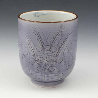 [免運費] 清水燒宋慧喬燒杯 (杯) 禮品車 (murasakino) § 清水燒宋慧喬瓷呈現時尚杯茶杯宇治茶