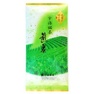 宇治茶三 (100 g 件) § 宇治茶糖果紀念品京都茶館宇治茶的茶,綠茶是。