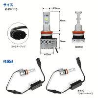 LEDヘッドライトH4Hi/LoH86500KCREE高輝度LEDチップ6000Lm12V24Vアルミボディ放熱長寿命