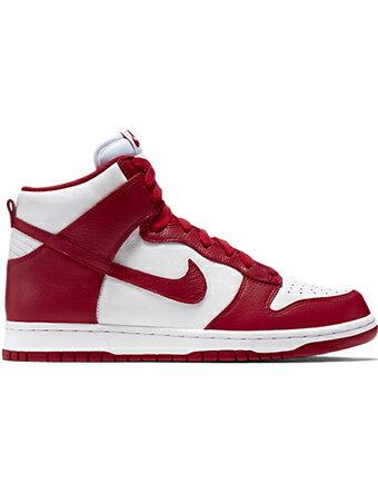 バスケットシューズ バッシュ スニーカー   ナイキ Nike Dunk Retro QS Wht/U.Red   ストリート