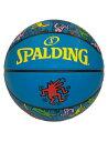 バスケットボール 5号球 ボール キースへリング スポルディング Spalding Ball Keith Haring Blue 5