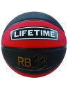バスケットボール 6号球 ライフタイム LIFE TIME Basketball 3×3 Blk/Red