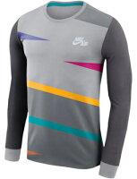バスケットロング Tシャツ ウェア ナイキ Nike Oversized Futura 90s Long Sleeve Anthracite ストリート 【MENS】の画像