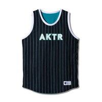 バスケットノースリーブ タンクトップ ウェア アクター AKTR BOOTLEG REVERSIBLE TANK Blk/Grn 【MENS】の画像