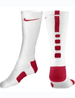 籃球穿襪子船員襪子精英船員耐克耐克襪子精英籃球船員西隧/紅 05P05Oct15
