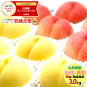 【予約】 敬老の日 ギフト 桃 山形県産 白桃・黄桃 詰
