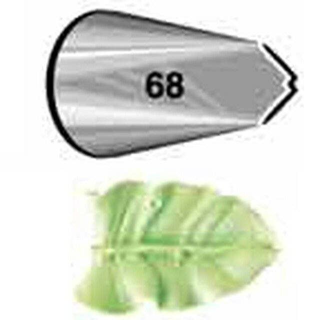 WILTON(ウィルトン)リーフチップ#68口金木の葉оキッチン用品 食器 調理器具 調理 製菓道具