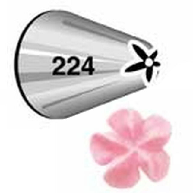WILTON(ウィルトン)ドロップフラワーチップ#224口金花оキッチン用品 食器 調理器具 調理