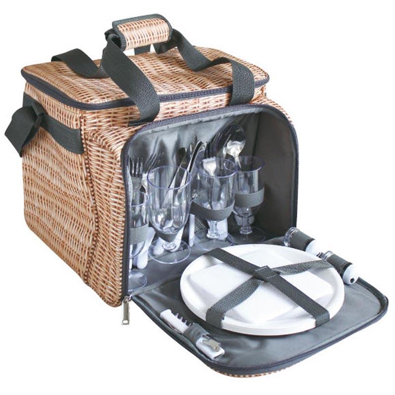 【送料無料】SPICE(スパイス)バカンス クーラー 食器付ピクニックバスケット PANI…...:ultramix:10033812