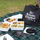 送料無料 デライトフル Delightful クーラーバッグ ブラック付き 3段 ピクニックラン