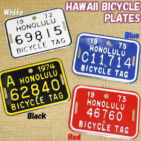 �ϥ磻���Х�������ץ졼��HAWAIIBICYCLEPLATE��Hawaii�ۡڥϥ磻���ߡ�