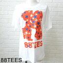 88TEES エイティエイティーズメンズ NEWオリジナル Tシャツ Arashi White Hawaii ハワイ雑貨 ハワイアンハワイ買い付け ハワイ限定 ハワイアン雑貨