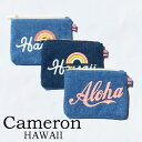 Cameron HawaiiDenim Coin Purse キャメロン ハワイ デニムコインケースHawaii ハワイ雑貨 ハワイアンハワイ買い付け ハワイ限定 ハワイアン雑貨
