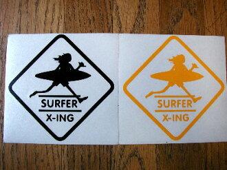 サーフアンドシー sticker cut outs (MED)