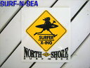 【SURF-N-SEA】サーフアンドシー・ステッカー4STICK4  【Hawaii】【ハワイ 雑貨】【ハワイアン】【ハワイアン】【ハワイアン】