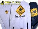 【SURF-N-SEA】【サーフアンドシー】【サーフィンシー】ノースショア・サーファーX-ingメンズロングスリーブTシャツ【Hawaii】【ハワイ 雑貨】【ハワイアン】【ハワイアン】【ハワイアン】