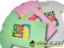 【SURF-N-SEA】【サーフアンドシー】【サーフィンシー】レディース TシャツPEACE LOVE SURF【Hawaii】【ハワイ 雑貨】【ハワイアン】【ハワイアン】【ハワイアン】