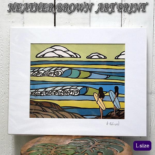 【ヘザーブラウン】【Heather Brown】ART PRINT L SOUTH POINTへザー ブラウン・アートプリント【ヘザー・ブラウン】Hawaii ハワイ雑貨 ハワイアン