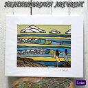 【ヘザーブラウン】【Heather Brown】ART PRINT L SOUTH POINTへザー ブラウン・アートプリント【ヘザー・ブラウン】【Hawaii】【ハワ..