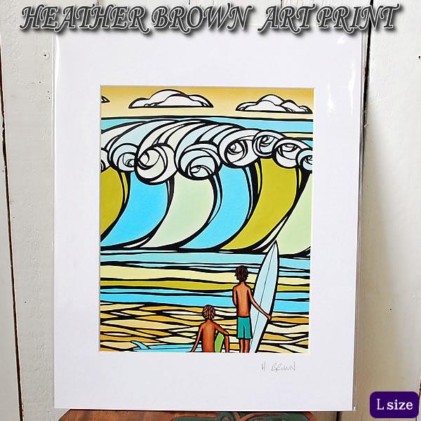 【ヘザーブラウン】【Heather Brown】ART PRINT L 2011 Honolulu Surf Film Festivalへザー ブラウン・アートプリント【ヘザー・ブラウン】【Hawaii】【ハワイ 雑貨】【ハワイアン】【ハワイアン】【ハワイアン】