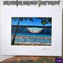 【ヘザーブラウン】【Heather Brown】ART PRINT S PIPELINEへザー ブラウン・アートプリント【ヘザー・ブラウン】【Hawaii】【ハワイ 雑貨】【ハワイアン】【ハワイアン】【ハワイアン】