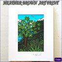 【ヘザーブラウン】【Heather Brown】ART PRINT S ULU TREEへザー ブラウン・アートプリント【Hawaii】【ハワイ 雑貨】【ハワイアン】【ハワイアン】【ハワイアン】