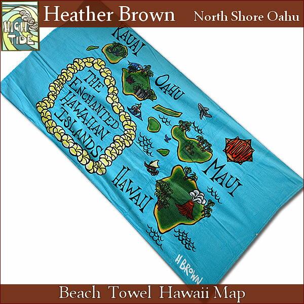 Hawaiian Beach Blanket: 【楽天市場】【ヘザーブラウン】【Heather Brown】ビーチタオル『BEACH TOWEL HAWAII