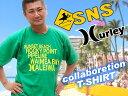【SURF-N-SEA】【HURLEY】メンズ Tシャツ『ハーレー ・サーフアンドシー』コラボ・メンズTEE 『EXTENDER TEE 』EMTSSEXTR【Hawaii】【ハワイ 雑貨】