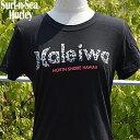 【SURF-N-SEA】【HURLEY】レディース Tシャツ NEWカラーサーフアンドシー&ハーレーコラボTEE 『HALEIWA4』Hawaii ハワイ雑貨 ハワイアン
