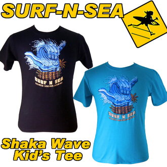 サーフアンドシー Kids (Boys) Shaka Wave Tee