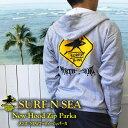 【SURF-N-SEA】【送料無料】【サーフアンドシー】【サーフィンシー】メンズ サーファーXingフーディーZipパーカ【Hawaii】【ハワイ 雑貨】【ハワイアン】【ハワイアン】【ハワイアン】