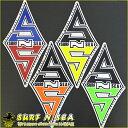 【SURF-N-SEA】オリジナルステッカー(T)【Hawaii】【ハワイ 雑貨】【ハワイアン】【ハワイアン】【ハワイアン】