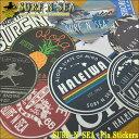 【SURF-N-SEA】オリジナルプラステッカー(E)全12種類【Hawaii】【ハワイ 雑貨】ハワイアン雑貨【ハワイアン】