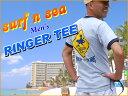 【SURF-N-SEA】【サーフアンドシー】【サーフィンシー】メンズ Tシャツ ノースショア・リンガー【Hawaii】【ハワイ 雑貨】【ハワイアン】【ハワイアン】【ハワイアン】