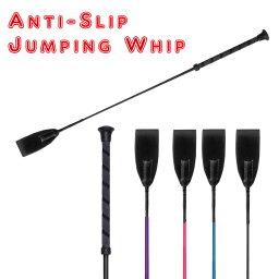【短鞭】 アンチスリップジャンピング短鞭 (乗馬用品-鞭)