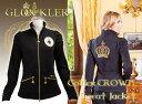 【ライディングウェア】 Gloockler (グルックラー) スウェットジャケット ゴールデンクラウン(乗馬用ライディングジャケット)