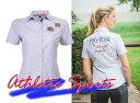 【ライディングウェア】 HKM ショートスリーブシャツ HKM PRO-TEAM アスレチックスポーツ-ストライプ (乗馬用品 馬柄ポロシャツ)