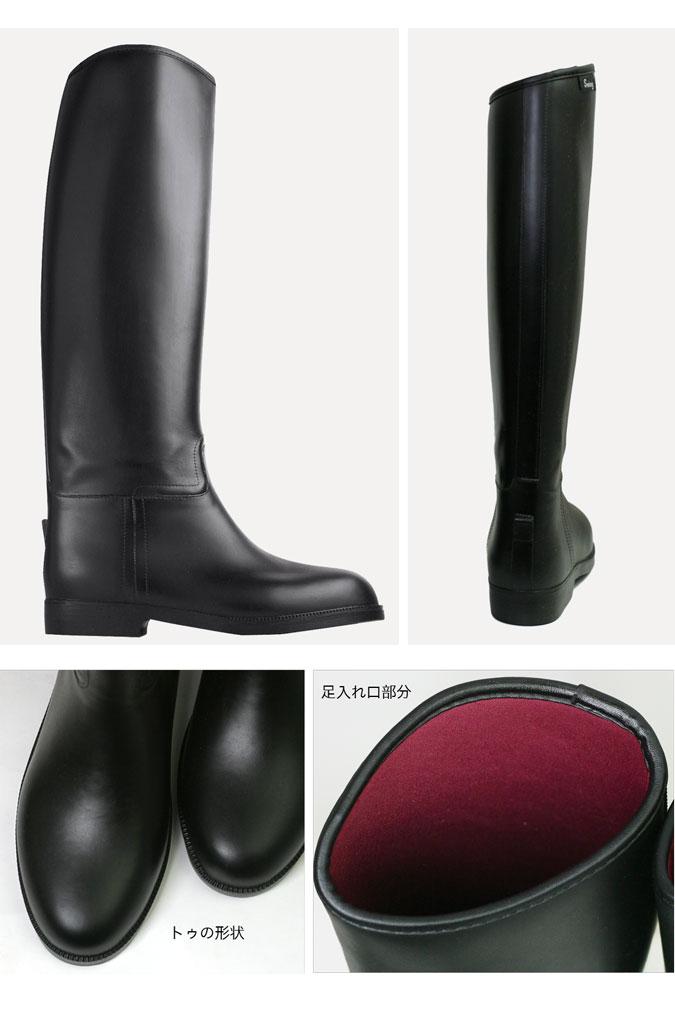 【乗馬ブーツ】 PVCライディングブーツ-ラー...の紹介画像3