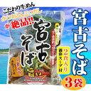 宮古そば (袋) 2食入り×3袋 送料無料 沖縄 人気 琉球料理 定番 土産