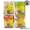 砂肝 ジャーキー 4種(各45g)×各1袋セット 送料無料 沖縄 人気 土産 おつまみ 珍味