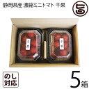 千果 静岡県産 濃縮ミニトマト ちか 200g×2P×5箱 産直 お取り寄せ ギフト 贈り物 条件付き送料無料