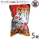 ケックンmini スパイシー 60g×5袋 沖縄伊江島小麦チップス クセになるウマ辛さ! 送料無料