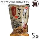 ケックンmini 黒糖&シナモン 60g×5袋 沖縄伊江島小麦チップス ほんのり甘い! 送料無料