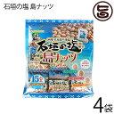石垣の塩 島ナッツ 240g(16g×15袋入り)×4袋 人気 おつまみ 珍味 お酒に合う 豆菓子 ミックスナッツ 送料無料