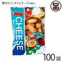 珍品堂 贅沢カフェタイムチーズ 6個入×100P 沖縄 土産 定番 菓子 人気 チーズ ちんすこう 送料無料