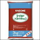 【送料無料】カゴメ マイルドトマトケチャップ3kgフィルムパック×1ケース(全4本)【KAGOME】【業務用】【調味料】