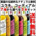 【送料無料】ユウキ食品 コーディアル7種類から選べる選り取り500ml×3本セット